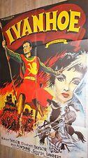 IVANHOE ! robert taylor  affiche cinema
