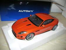 Autoart 1:18 73653 Jaguar F-Typ 2015 R Coupe, firesand metallic orange - MINT