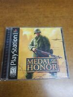 Medal of Honor (Sony PlayStation 1, 1999)(Complete)(Tested)