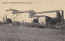 6508) CASTELLO DI CORTICELLI (VAL TIDONE) PIACENZA. VIAGGIATA.