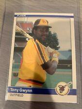 1984 Fleer Tony Gwynn #301 Baseball Card