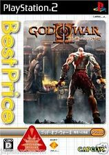 Used PS2  God of War II: The End Capcom  SONY PLAYSTATION JAPAN IMPORT