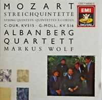 MOZART : STRING QUINTETS / ALBAN BERG QUARTETT [ CD ALBUM]