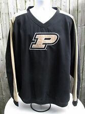 NCAA Purdue Boilermakers Pull Over Windbreaker Jacket Size 2XL