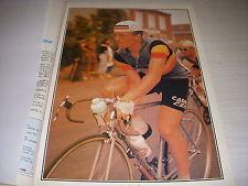 CYCLISME PHOTO 12 COULEUR COUPURE REVUE FRED de BRUYNE EQUIPE BELGE