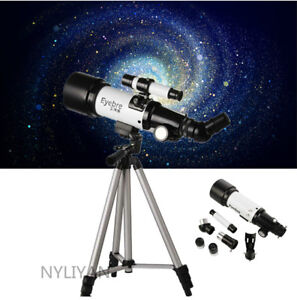 HD Astronomical Telescope 70400 Monocular With Tripod Adapter Night Vision