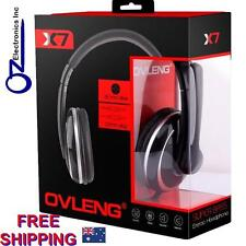 OVLENG X7 Stereo PC Gaming Headset Headphones Noise Cancel Mic 3.5mm NEW