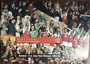 Great Britain Gairsay 1996 FA Cup Minisheet MNH