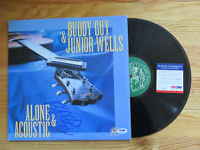 BUDDY GUY signed ALONE & ACOUSTIC 1991 Record / Album PSA / DNA