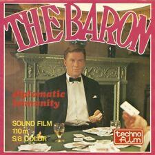 The Baron Diplomatic Immunity SUPER 8 COLOUR SOUND 3 X 400FT CINE FILM 8MM