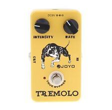 Joyo JF-09 Tremolo Guitar Effect Pedal True Bypass BY JOYO O7V1