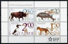 Bulgaria 2018 MNH Extinct Animals Great Auk Thylacine 4v MS Animals Birds Stamps