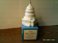 Vtg 1976 Avon The Capitol(White)-Wild Country After Shave-New In Box-Free Ship
