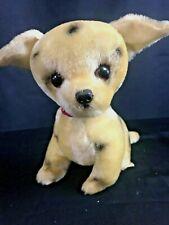 "California Stuffed Toy Dalmation Dalmatian Plush Animal Vintage Dog 7"""