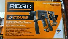 RIDGID Brushless 18v 1 Inch SDS Plus Rotary Hammer Tool Only R86711B