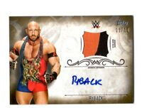 WWE Ryback 2016 Topps Undisputed GOLD Authentic Autograph Relic Card SN 5 of 10