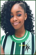 4x6 SIGNED AUTOGRAPH PHOTO REPRINT of Marsai Martin TV series Black-ish