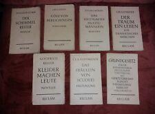 Reclam Sammlung, 1959 - 1964