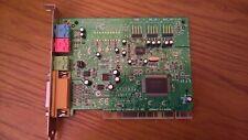 ✔ TESTED PCI carte son Creative Ensoniq AudioPCI  Model:CT4810   (CT2518-DAQ)