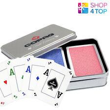 COPAG FOUR SEASONS 100% PLASTIC POKER CARDS - FALL LIMITED EDITION - 2 DECKS NEW