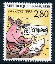 STAMP / TIMBRE FRANCE NEUF N° 2842 ** LE PLAISIR D'ECRIRE / FELICITATIONS