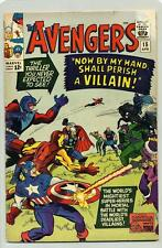 AVENGERS #15 ( DEATH OF ZEMO ) CAPTAIN AMERICA, THOR, IRON MAN, GIANT-MAN & WASP