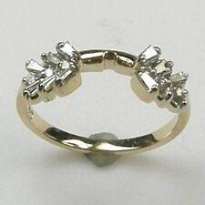 1/2 CARAT DIAMOND LADIES WRAP / ENHANCER RING / BAND 14K GOLD.