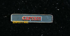 CHEER CAPTAIN COLLECTOR PIN HIGH SCHOOL COLLEGIATE UNIQUE ONE OF A KIND CHEER HS