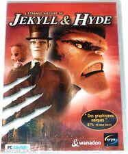 Jeu video PC cd rom l étrange histoire de JEKYLL & HYDE cryo NEUF sous blister
