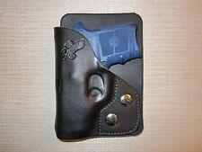 S&W Bodyguard 380 & M&P BG 380 FACTORY LASER, R hand, wallet & pocket holster