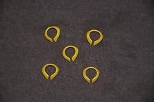 5 x Halskrause gelb
