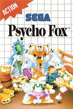 Framed Print - Psycho Fox SEGA Master System (Man Cave Picture Poster Game Art)