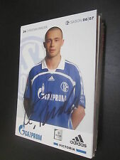53077 Christian Pander FC Schalke 04 06-07 DFB original signierte Autogrammkarte