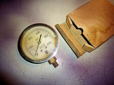 Pressure gauge 0-1000 Psi, Tube-Ph.Brz , made in Usa