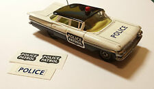 Corgi 481 Chevrolet Police Car  Decal/Transfer set