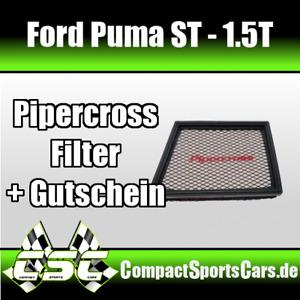 Ford PUMA ST 1.5T   200 PS    Pipercross Sportluftfilter Ölfrei