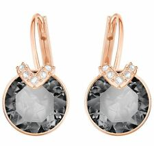Swarovski 5299317 Earrings Bella V Gray Crystal RG/Plated Length 1.8cm  RRP $89
