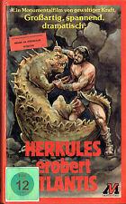 (VHS) Herkules erobert Atlantis - Reg Park, Fay Spain, Ettore Manni -Atlas Video