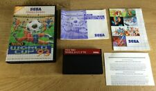 World Cup 93' - SEGA Master System (SMS) TESTED UK PAL 93 Tecmo