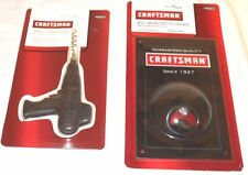 Craftsman Cast Iron Drill Corkscrew and Wall Mount Bottle Opener New Set
