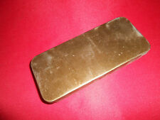 BRITISH ARMY: 1943 WWII BREN or L. ENFIELD  SPARES TIN or BRITISH goggles case
