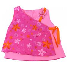 Vertbaudet robe  à pan sans manches bébé taille 18 mois