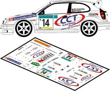 DECALS 1/43 TOYOTA COROLLA WRC - #14 - PECH - SEMPERIT RALLYE 2001 - D43169