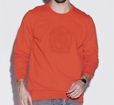 Men's LACOSTE colorado orange long sleeve sweatshirt crew neck size 7 / XL