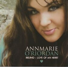 Annmarie O'Riordan - Ireland, Love of my Heart (Irish Music CD Free UK P&P)
