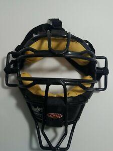Rawlings Baseball Umpires/Catchers mask Black & Tan Model LWMXJ  pre owned