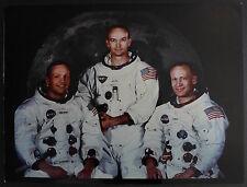 Photo Apollo XI - Neil Armstrong - Michael Collins - Edwin Aldrin - Moon 1969
