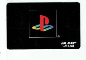 Walmart Gift Card - Playstation - PS - No Value - I Combine Shipping