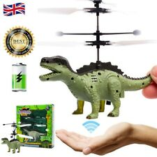 Infrarot Fliegender Heli Dinosaurier Sensor Hubschrauber Kinder Spielzeug modell