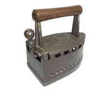 Altes Bügeleisen DALI Patent um 1900